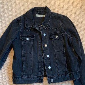 topshop grey jean jacket